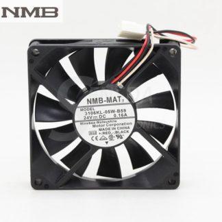 NMB 3106KL-05W-B59 8CM 24V 0.16A three-wire inverter cooling fan