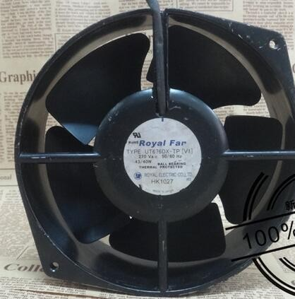 ROYAL FAN UT676DX-TP 24VDC 0.63A cooling fan