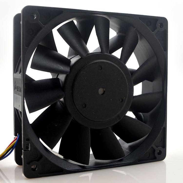 Delta PFC1224DE 24V 2.40A  12CM 4-wire inverter cooling fan