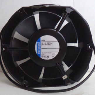 ebm-papst P/N 6424 12-28 NOMINAL VDC 18W 750mA AXIAL COMPACT FAN