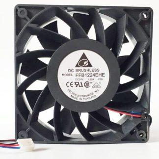 DELTA FFB1224EHE-F00 120x120x38mm DC24V 1.5A 3 Lines server inverter cooling fan
