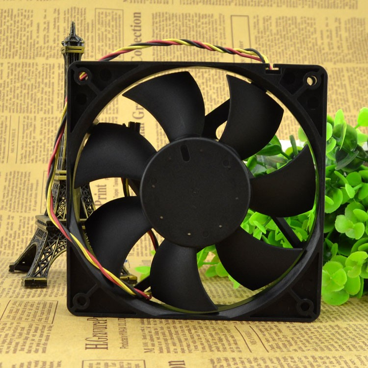 AVC DATA1225B8F DC48v 0.27A 12CM  3line switch fan