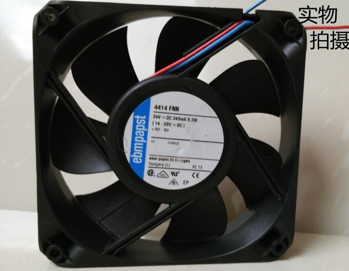Ebmpapst 4414FNN 119X25.4MM 24V cooling fan
