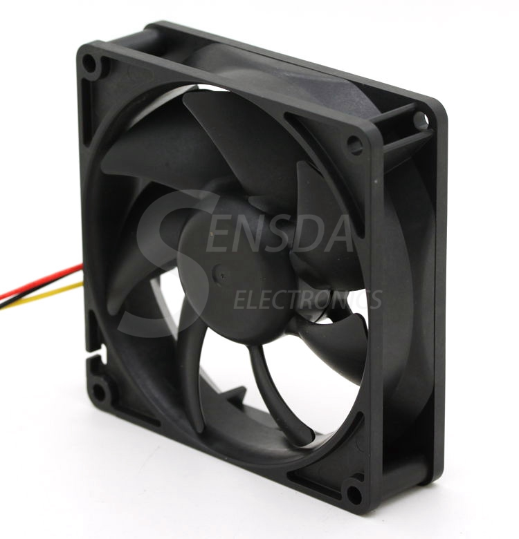 Sanyo 9A0912F404 9025 90mm DC12V 0.14A server inverter axial cooling fan