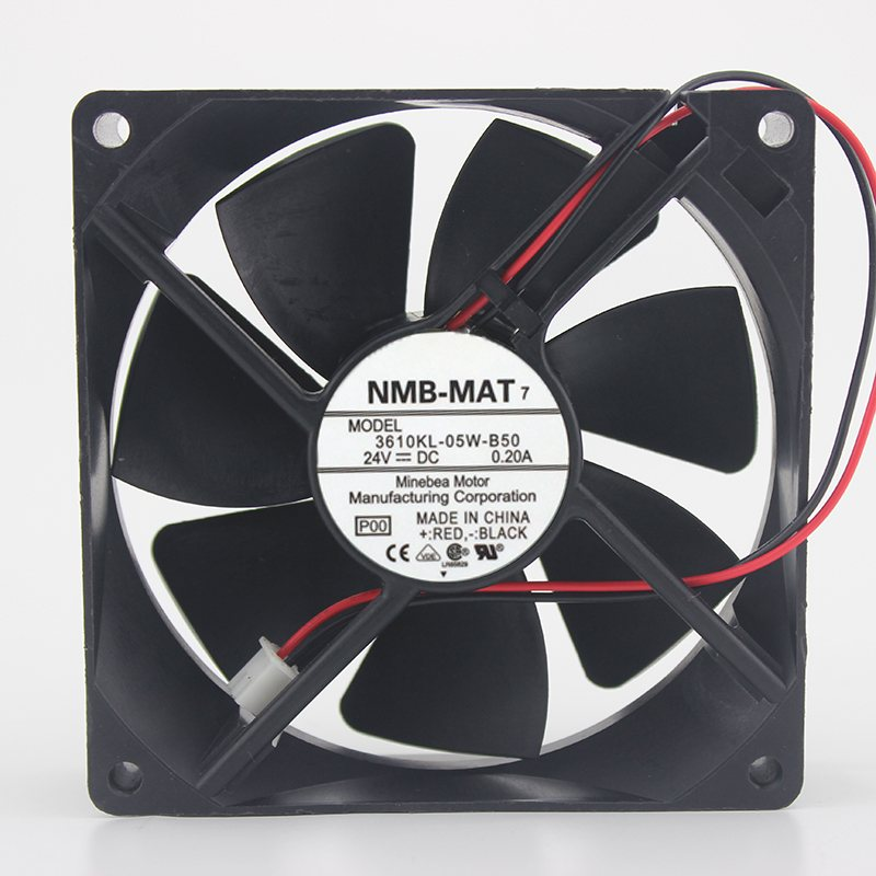 NMB 3610KL-05W-B50 / B59  IPC 24V 0.20A inverter fan