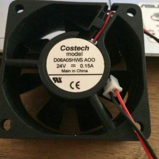 COSTECH D06A05HWS A00 6CM DC24V 0.15A inverter fan