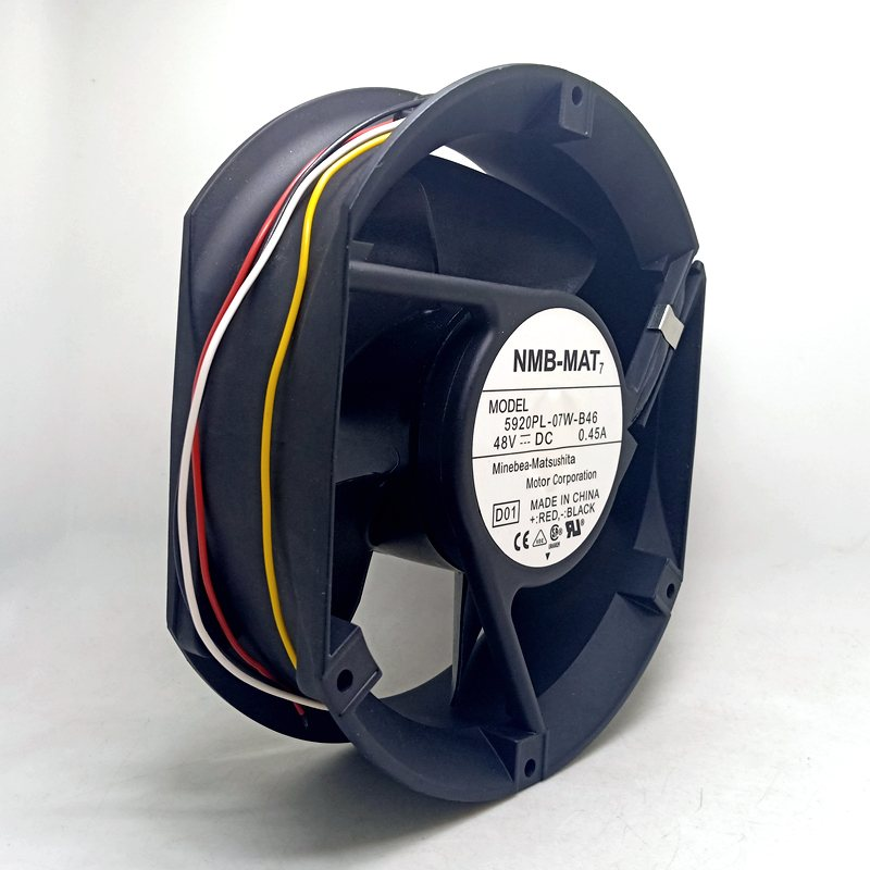 NMB 5920PL-07W-B46 DC48V 0.52A inverter axial cooling fan
