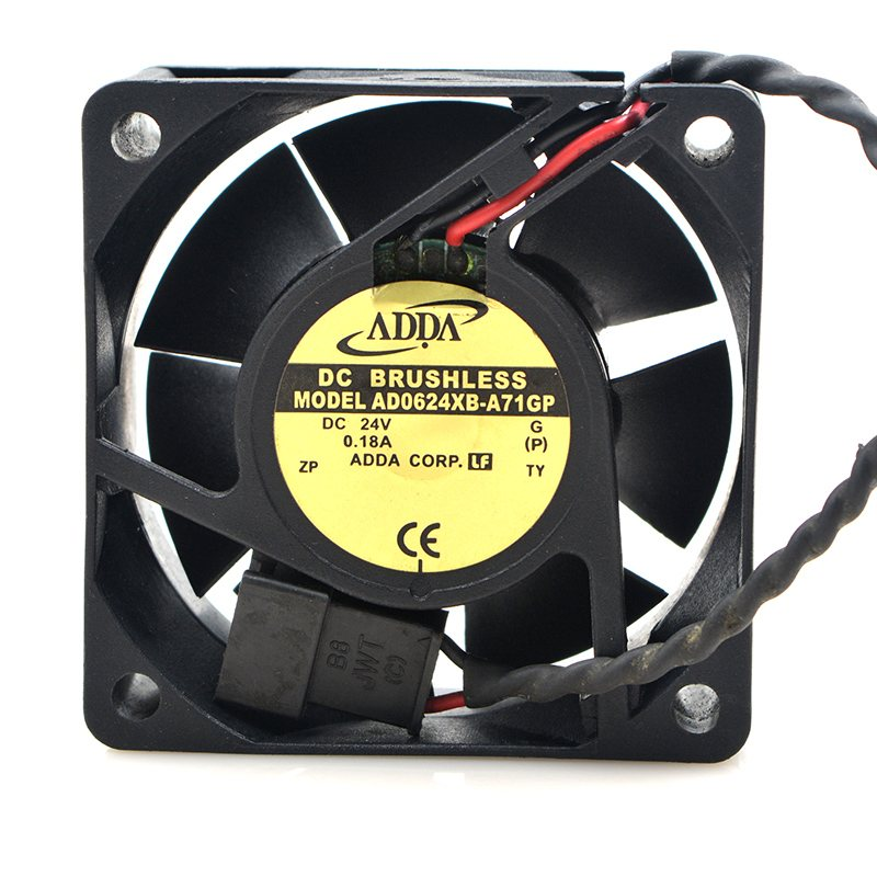 ADDA AD0624XB-A71GP DC24V 0.18A 4.32W inverter server cooling fan