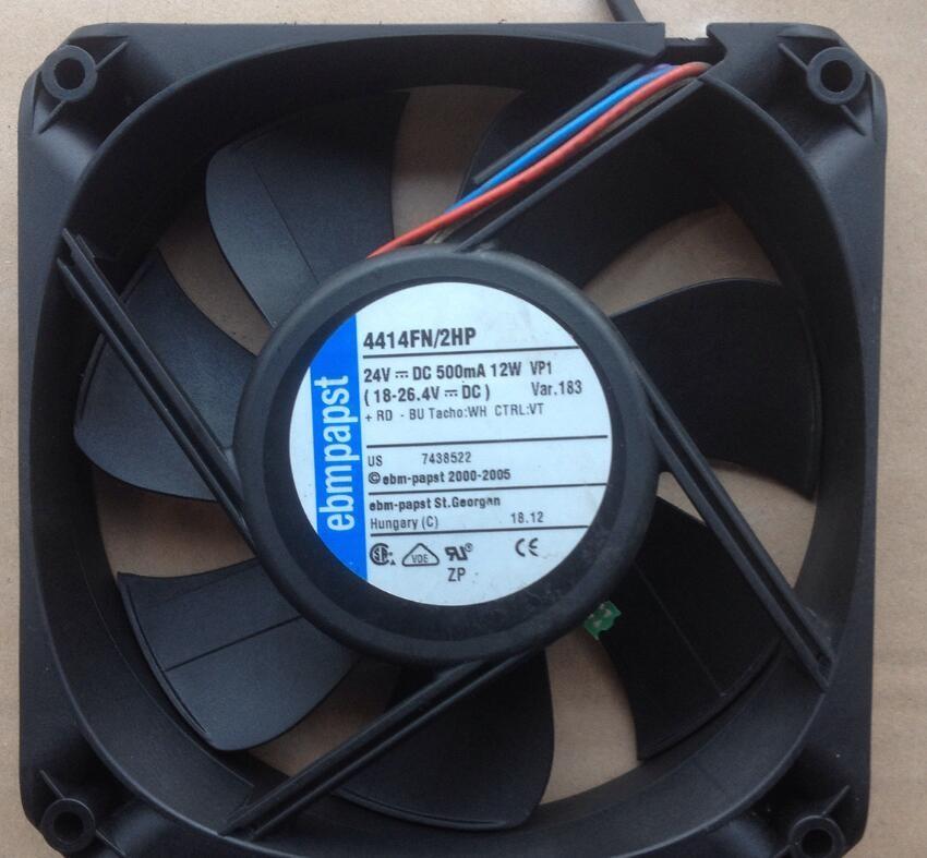 ebmpapst 4414FN/2HP 24v 500mA 12W cooling fan