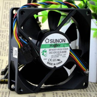 SUNON MF801VX-Q010-S99 80*80* 12V  3.84W 4 line fan