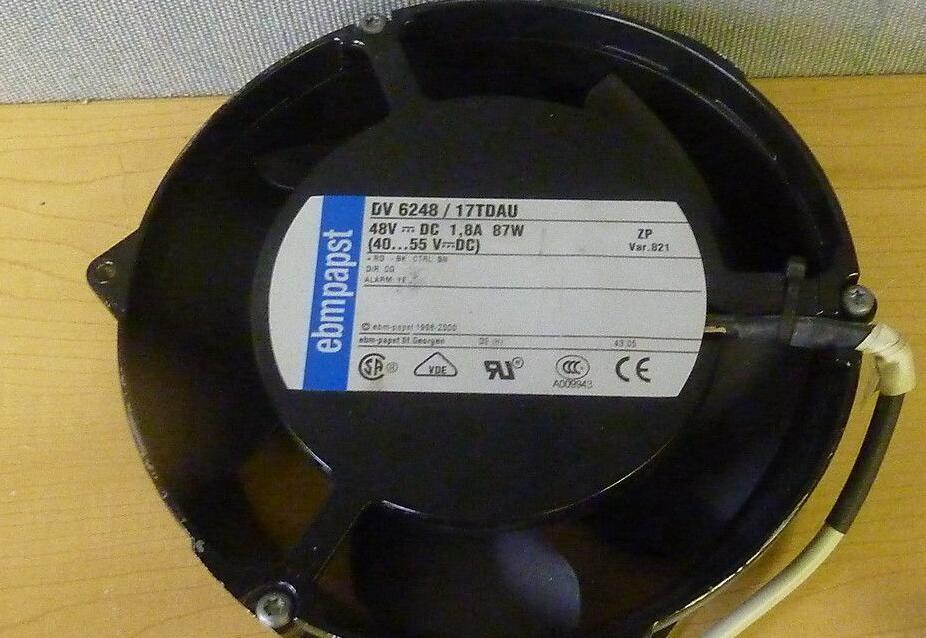 Ebmpapst  DV6248/17TDAU   DC 48V 87W 4  lines   cooling   fan
