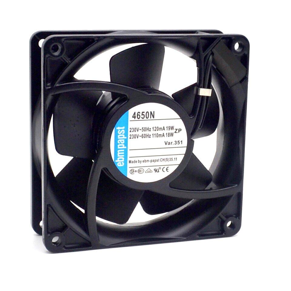 Ebmpapst 4650N 230V TYP4650N 19/18W  metal  fan