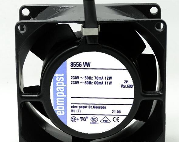 Ebmpapst 8CM 8556 VW 220V 11W/12W cooling fan