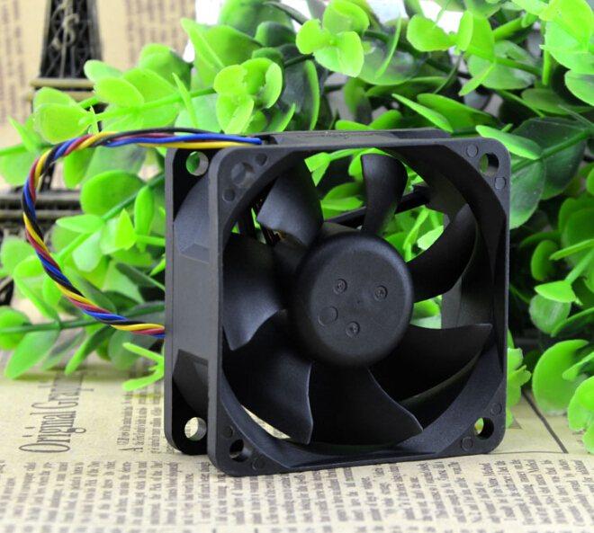 Foxconn PVA060G12L 12V 0.20A 60*60*25 PWM 4line temperature control fan