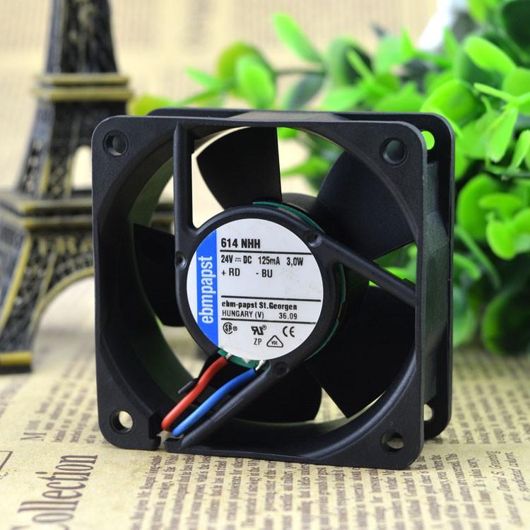 ebmpapst 614NHH 24V 125MA 3.0W cooling fan