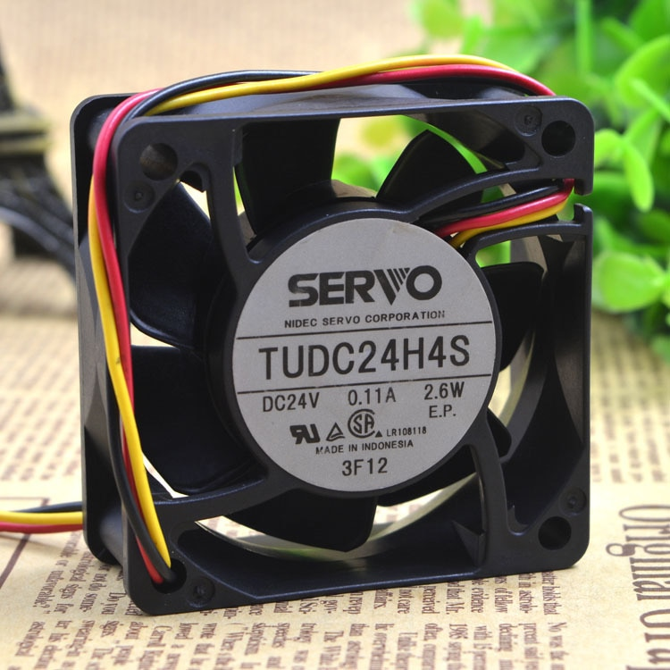 SERVO TUDC24H4S 24V 2.6W 6CM ultra-quiet cooling fan