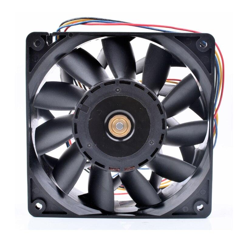 AVC 2B12038B48M DC48V 0.54A 4line server inverter cooling fan