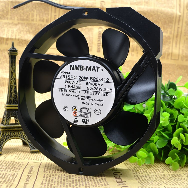 NMB 5915PC-20W-B20-S12 200V  cooling  fan