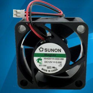 SUNON HA401V4-0000-999 DC12V 0.6W 40*40*mm 2-line Cooling Fan