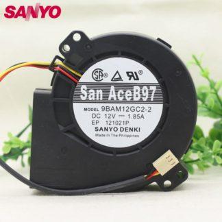 SANYO 9BAM12GC2-2 12V 1.85A  9CM wind turbine cooling fan