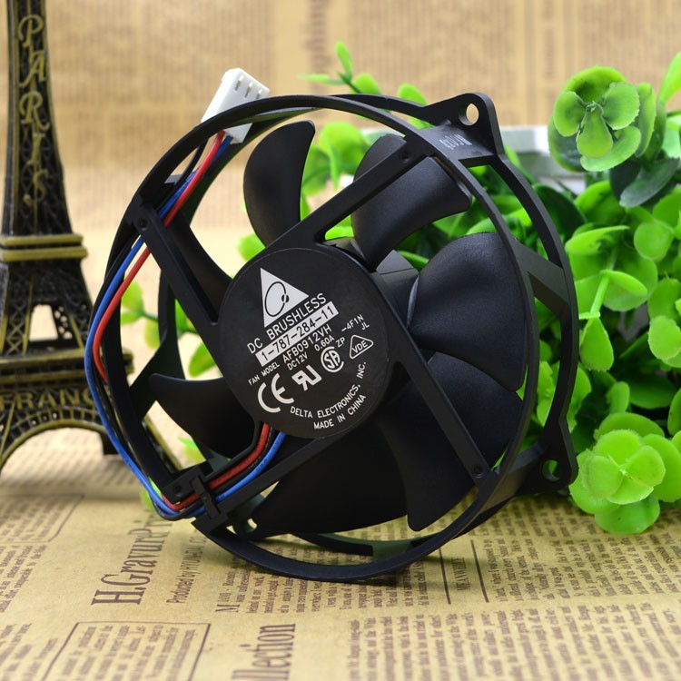 Delta AFB0912VH 12v 0.60 A third line round computer desktop host CPU cooling fans