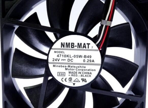 NMB-MAT7 4710KL-05W-B49 24V 0.29A cooling fan