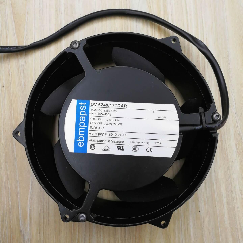 ebmpapst DV6248/17TDAR 48V 1.8A 87W cooling fan