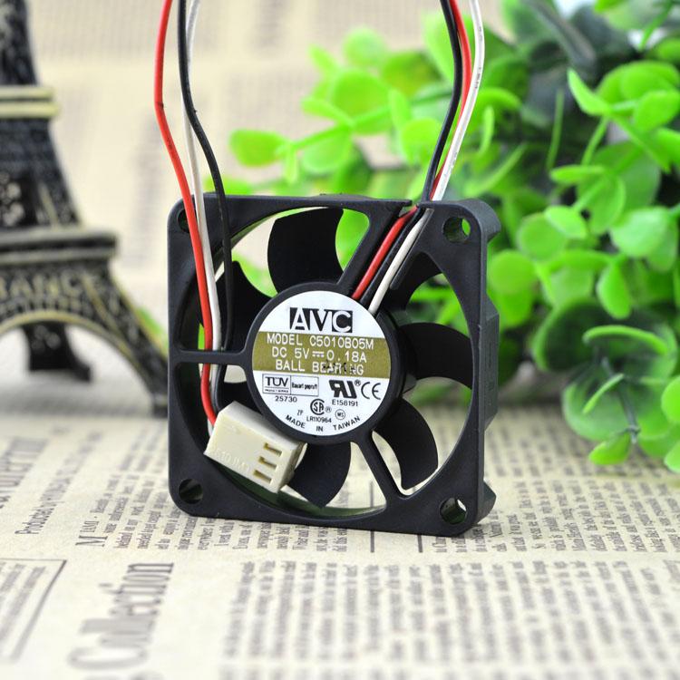 AVC C5010B05M DC5V 5CM 0.18A cooling fan