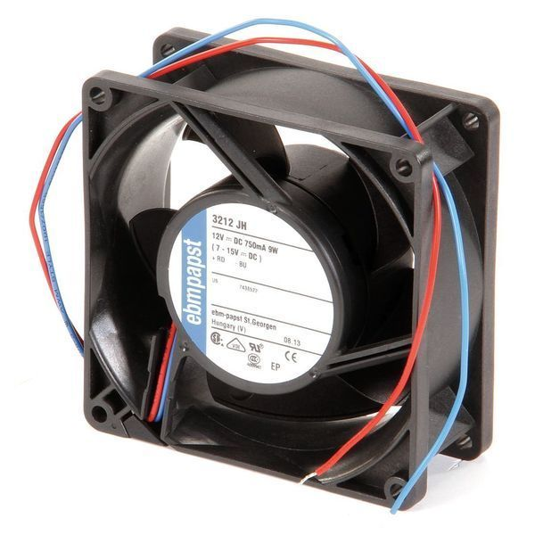 Ebm-Papst 3212JH 12VDC 3-5/8″ Square Axial Fan