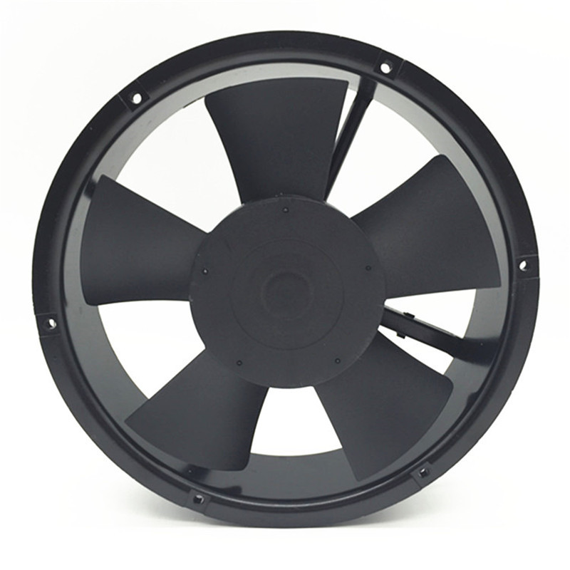 F2E-250B-230 220V  254*254*89mm 75W 0.3A Pure Copper Motor Full Metal Blower Axial Cabinet Cooling Fan