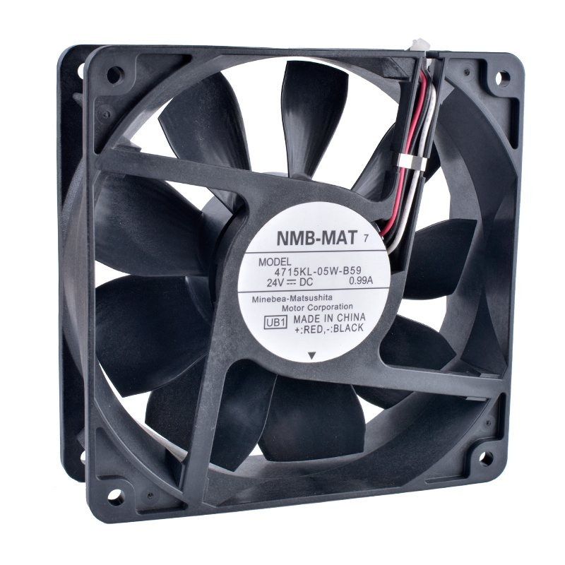 NMB 4715KL-05W-B59 24V 0.99A Double ball bearing  cooling fan