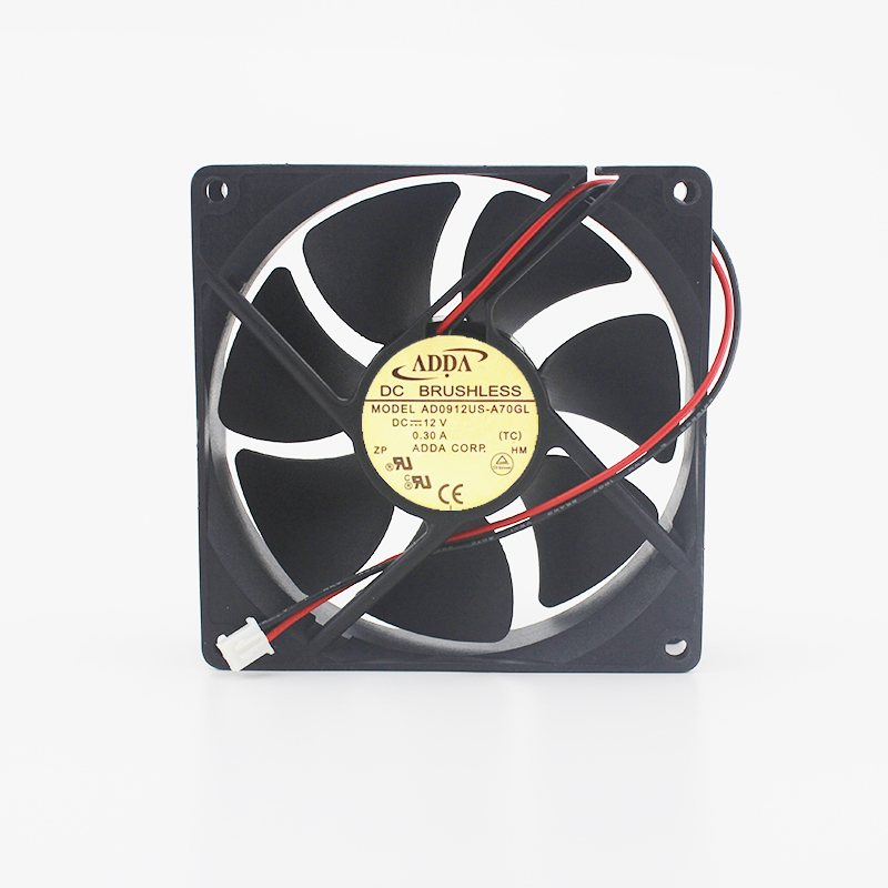 ADDA AD0912US-A70GL 9cm DC12V 0.3A inverter Cooling Fan