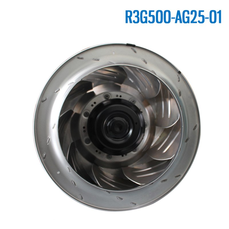 Ebmpapst R3G500-AG25-01 380V-480V 3.9A 2500W IP54 centrifugal turbine fan