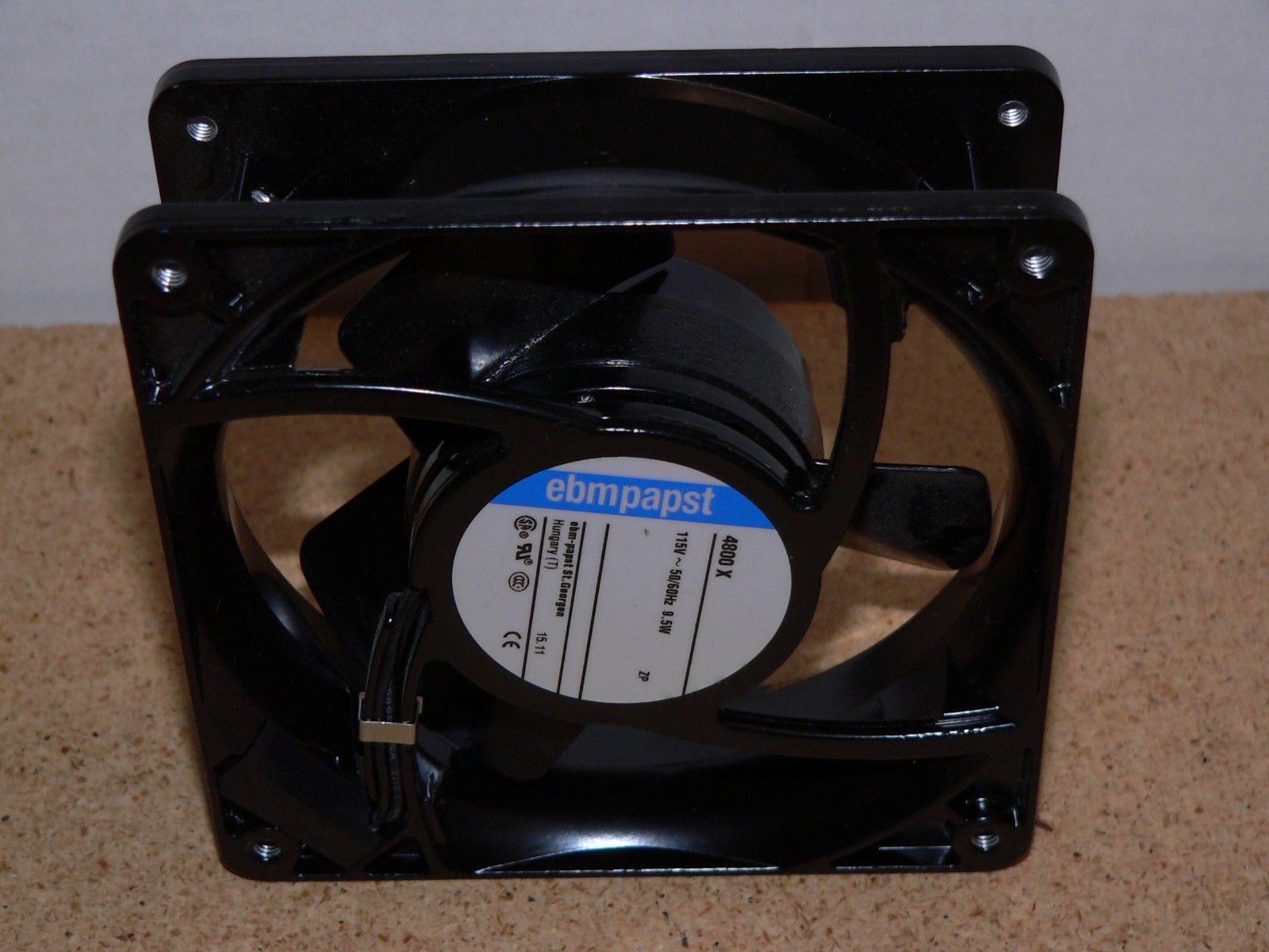 Ebm-papst 4800x 86K9865 119Mm 115VAC 50/60Hz 9.5W Axial Fan