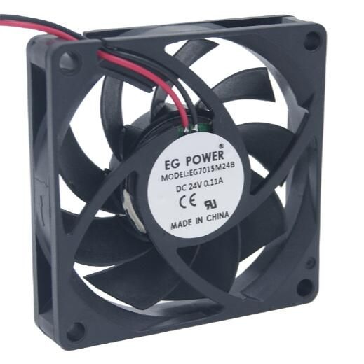 EG POWER  24V EG7015M24B  2 line DC fan double ball industrial fan