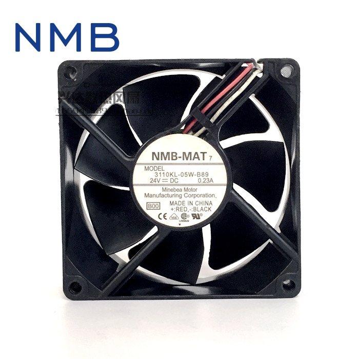 NMB 3110KL-05W-B89 24V  80*80*25mm Axial Fan