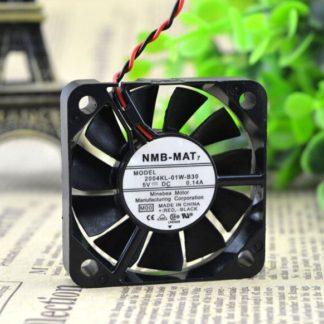 NMB 2004KL-01W-B30 5CM 5V 0.14A 5cm 2 line cooling fan
