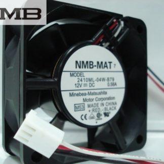NMB 2410ML-04W-B79 -F62 6cm DC12V 0.58A 3Wire server inverter Cooling fan