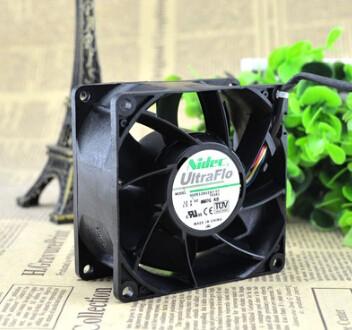 NIDEC V80E12BS2A7-07 80*80*38 12V 1.5A 8CM PWM four wire temperature air fan