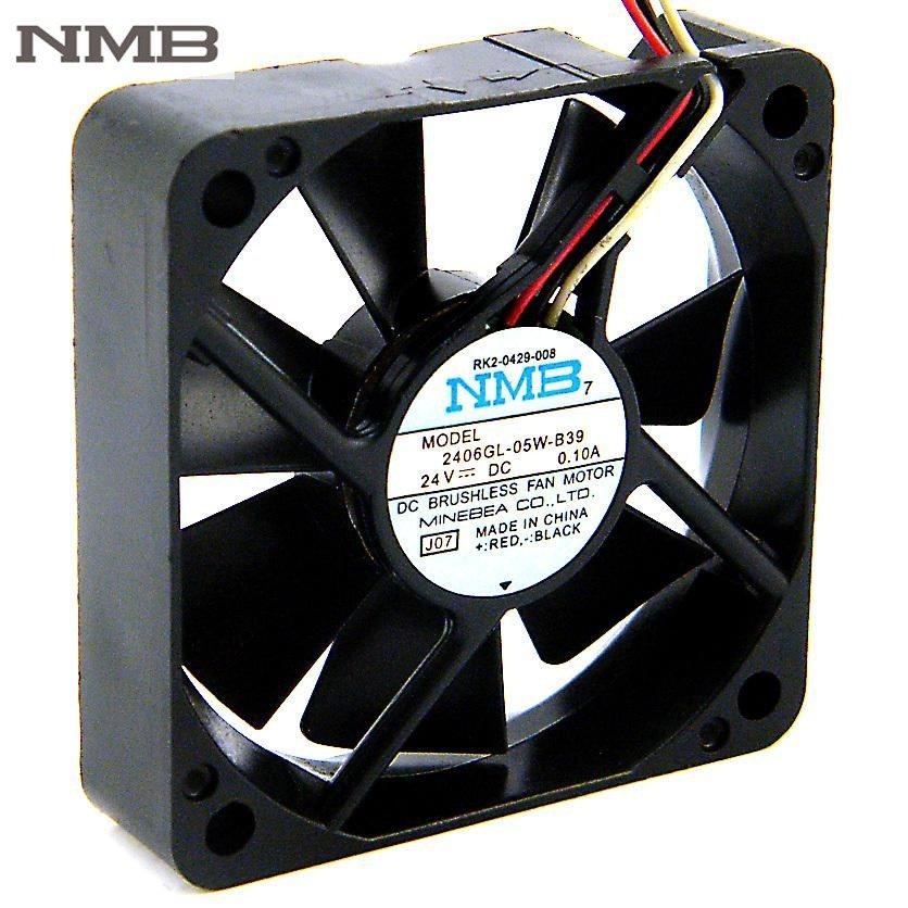 NMB 2406GL-05W-B39 DC24V 0.1A 60mm  inverter computer cooling fan