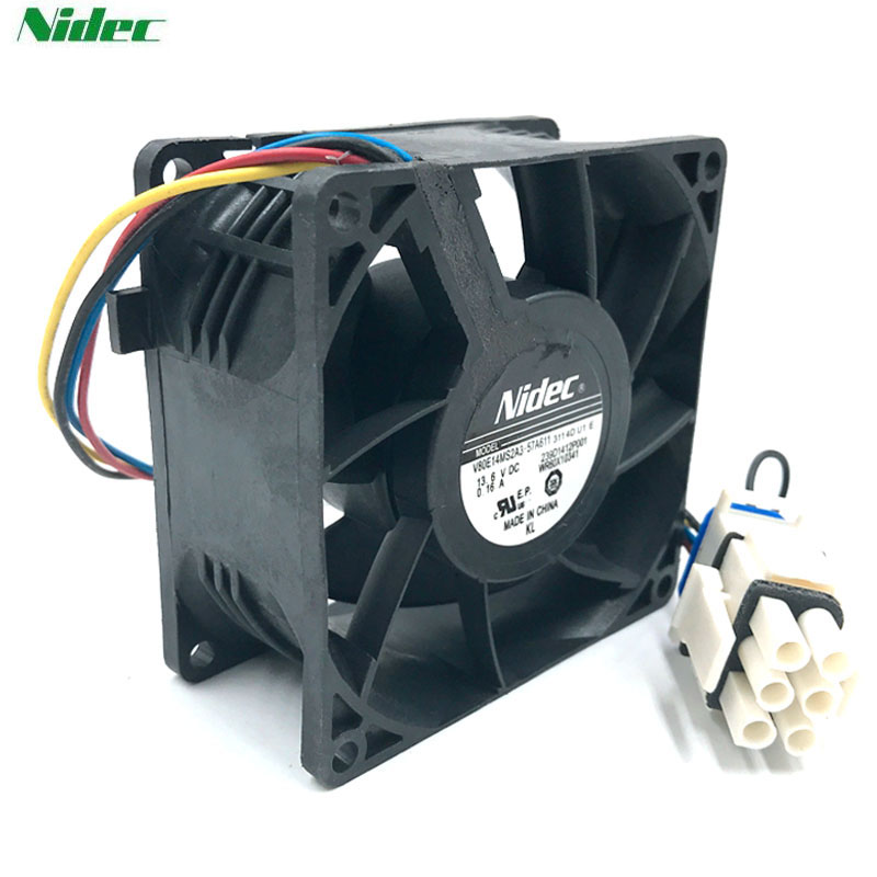 Nidec V80E14MS2A3-57A611 13.6V waterproof cooler cooling fan