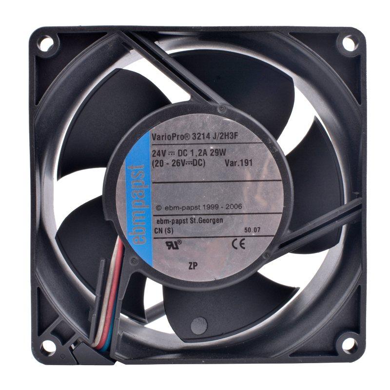 ebmpapst 3214J/2H3F 24V 29W Double ball bearing cooling fan