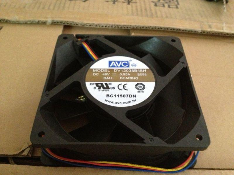 AVC DV138B48H 12CM 48V 0.95A cooling fan