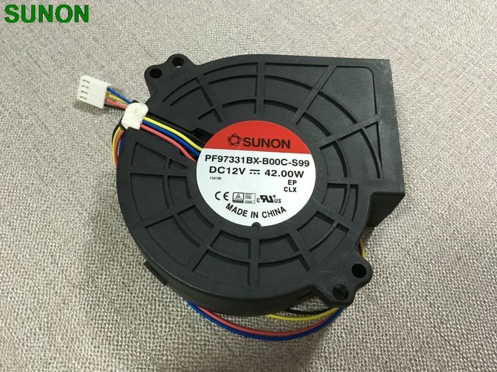 SUNON PF97331BX-B00C-S99 blower super large air 12V 3.5A cooling fan