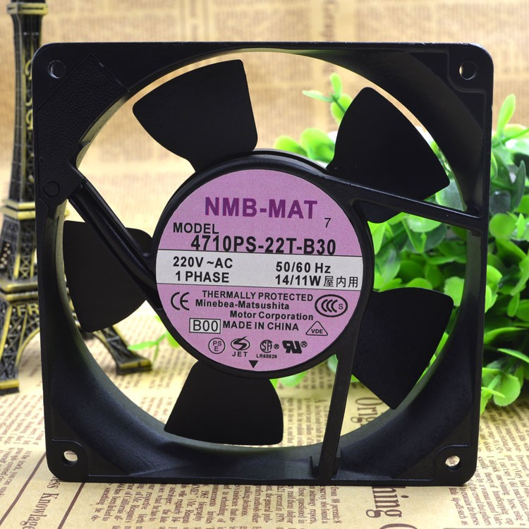 NMB-MAT  4710PS-22T-B30   AC220V  14/11W    fan