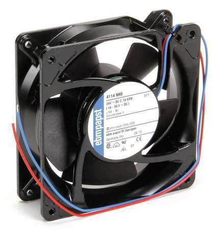 Ebm-Papst 4114NH6 24VDC 4-2/3″ Square Axial Fan