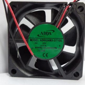 ADDA AD0624MX-D71GL 24V 0.07A 6cm  Inverter cooling fan