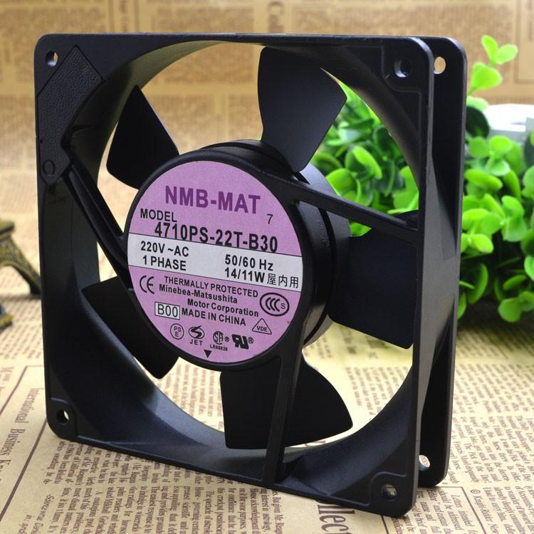 NMB-MAT  4710PS-22T-B30   AC220V  14/11W    fan