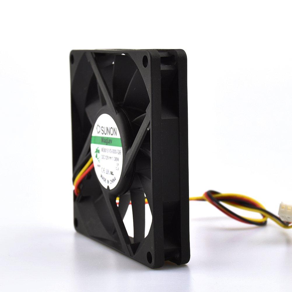 SUNON ME80151V3-0000-G99 DC12V 1.08W  80*80*15mm fan