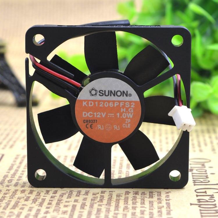 SUNON KD16PFS2 DC12V 1.0W 6CM cooling fan